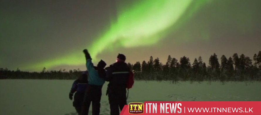 Northern Lights illuminate sky over Finland