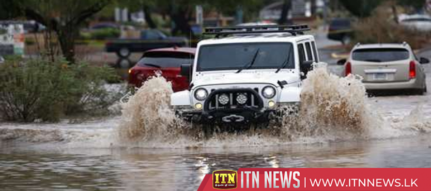 Rain from remnants of tropical storm brings floods to Phoenix