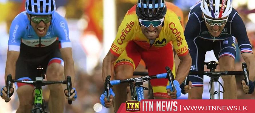 Emotional Valverde wins Men's Elite Road Race