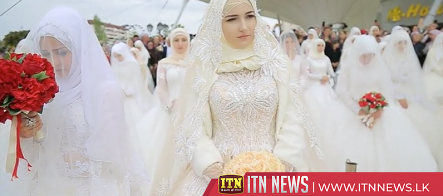 Russia's Chechnya marks capital city's 200th anniversary with 200 weddings