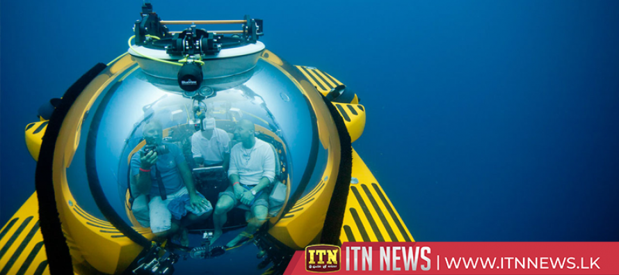 Explorers embark on a first of its kind mission to the bottom of all five oceans