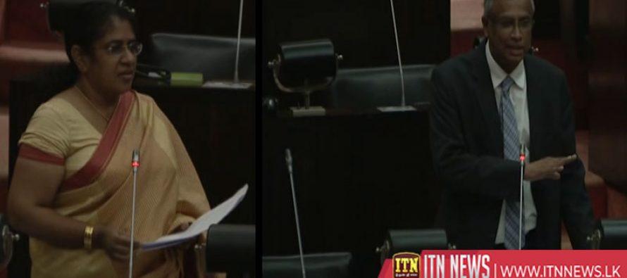 படுகொலைகள் செய்தோரை அரசியல் கைதிகள் என கூறுவீர்களா?-அமைச்சர் தலதாகேள்வி (Video)