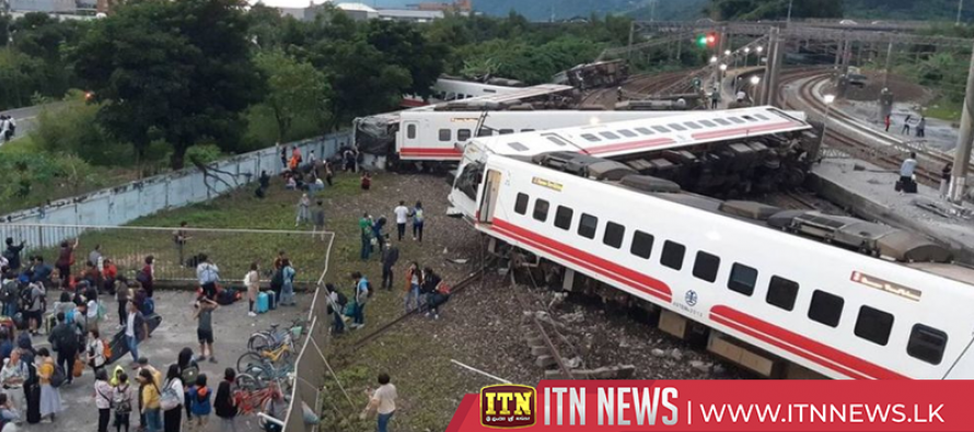 Taiwan train derailment in Yilan County kills at least 18