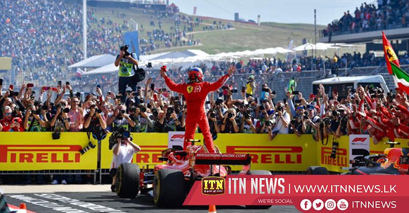 Raikkonen wins USGP, Hamilton title on hold after third place finish
