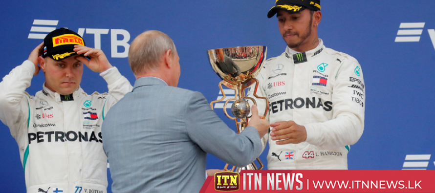 Hamilton wins in Russia to go 50 points clear