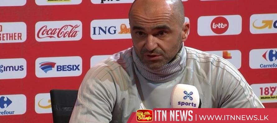 Belgium not underestimating Iceland, head coach Martinez says