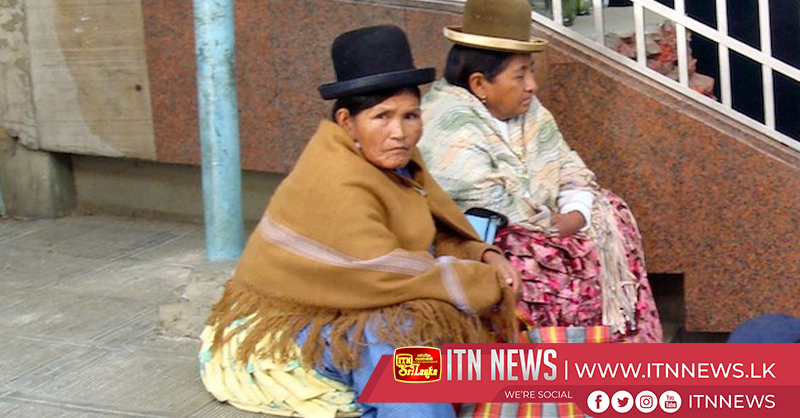 Indigenous women race through Bolivia's streets