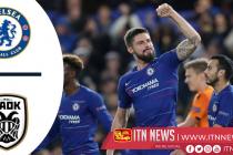 Chelsea vs paok Europa League (VIDEO)