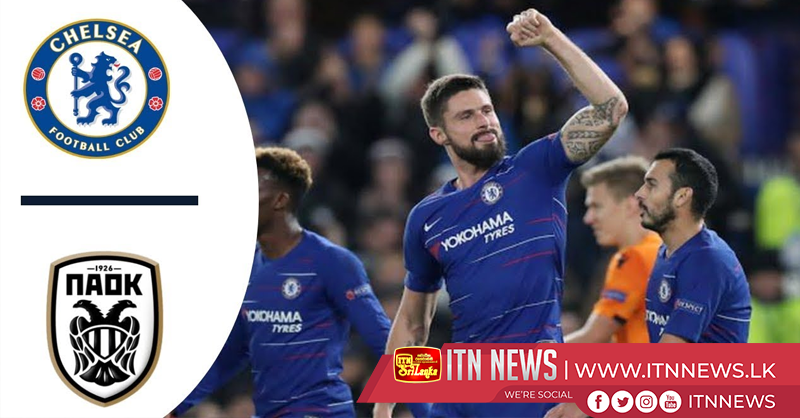 Chelsea vs paok Europa League (VIDEO)