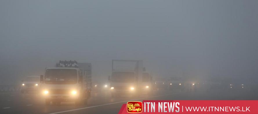Heavy fog disrupts traffic across China