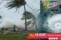 Cyclonic storm 'GAJA' is now 660 Kilometers away from Sri Lanka.