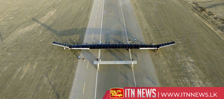 Solar powered UAV stays airborne for a year, say developers