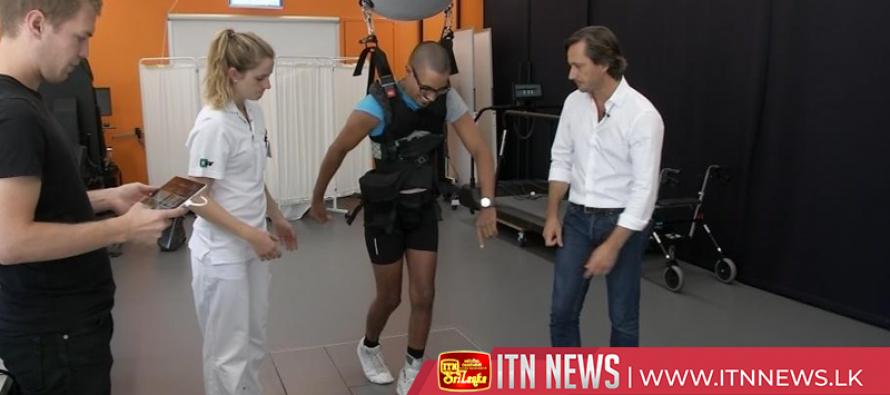Paraplegics walk again thanks to spinal cord stimulation