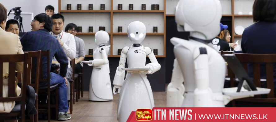 Tokyo robot cafe serves up jobs for people with disabilities