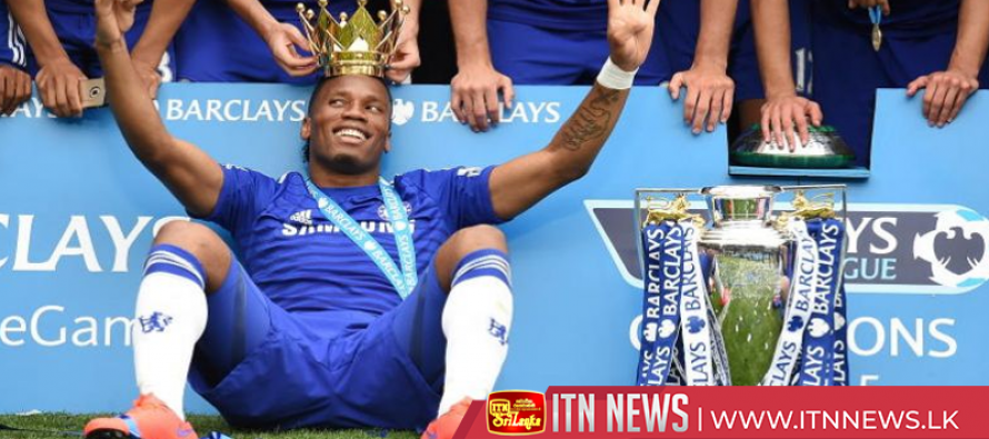 Former Chelsea striker Drogba announces retirement at 40