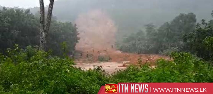 Families evacuated due to landslides