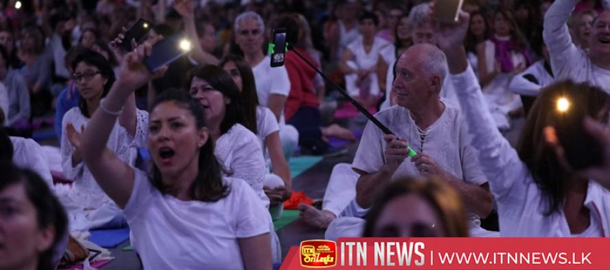 India's Modi promotes yoga in Argentina ahead of G20