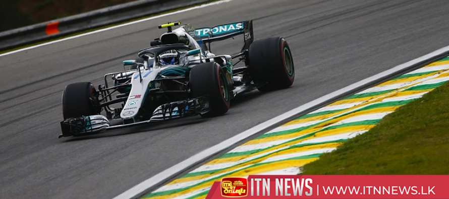 Valtteri Bottas leads Mercedes one-two in second session of Brazil GP practice