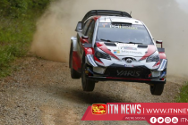 Ogier claims sixth WRC title after Tanak and Neuville retire, Latvala win gives Toyota manufacturers crown