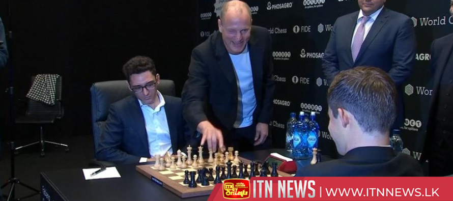 Chess World Championship final starts with Woody Harrelson mishap