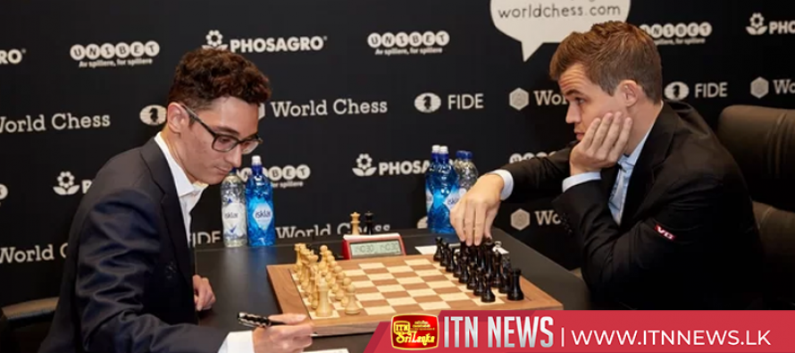 Reigning champion Carlsen all square with Caruana after game 10 of World Chess Championships