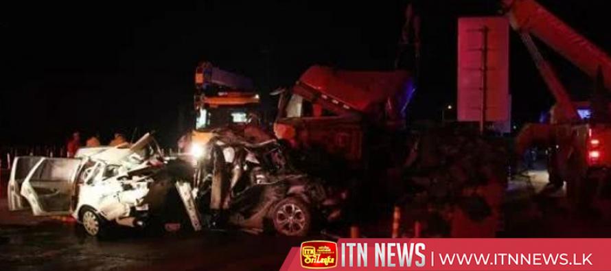 14 killed, 34 injured in vehicle pileup in northwest China
