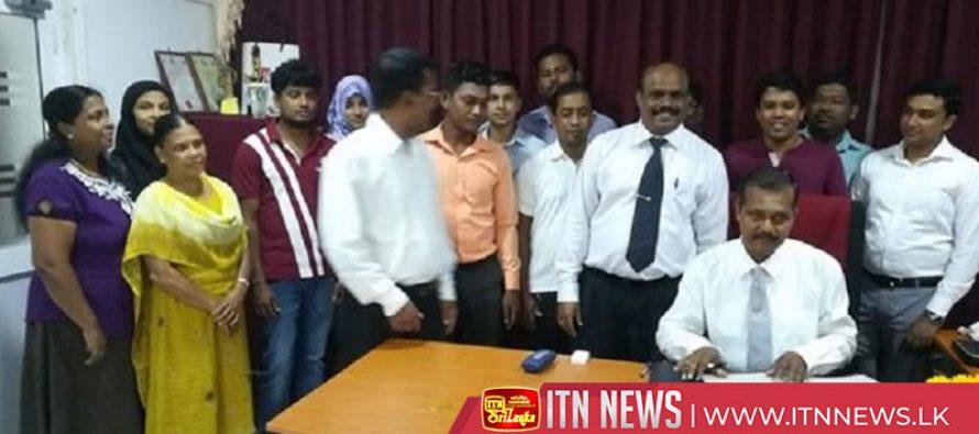 கிழக்கு மாகாண தேர்தல்கள் பிரதி ஆணையாளர் கடமைகளை பொறுப்பேற்பு