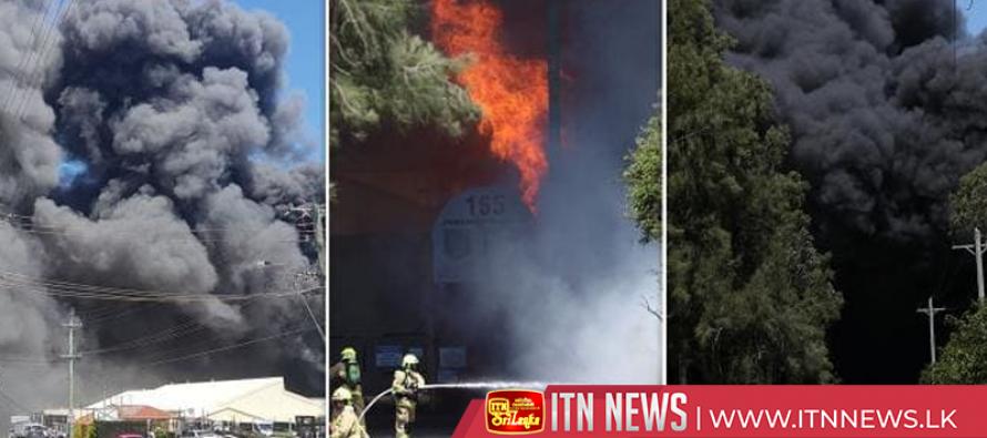 Fire destroys several Sydney businesses