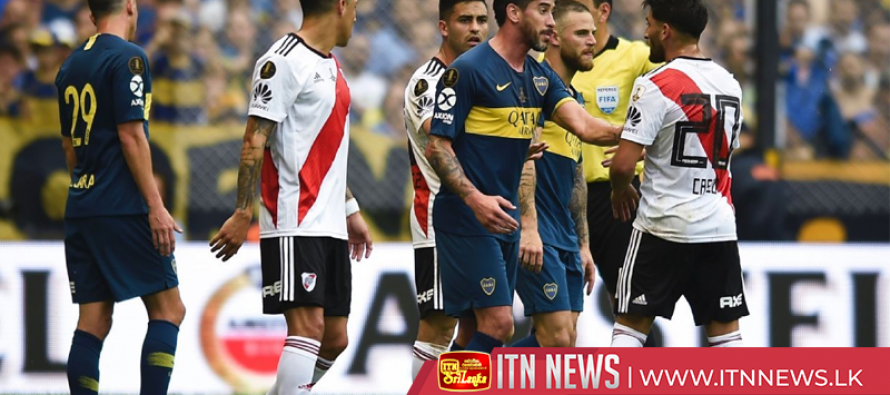 Soccer mania grips Buenos Aires as Boca hits training field ahead of Libertadores final