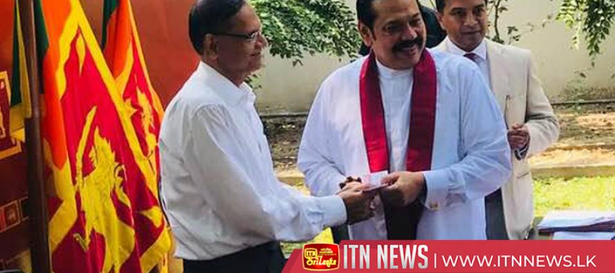 PM obtains Podujana Peramuna party Membership