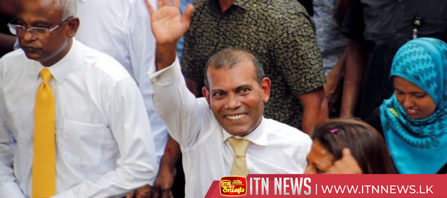 Ex-Maldives president returns from exile to a hero's welcome from supporters