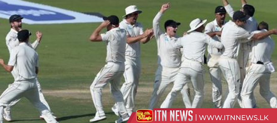 Ajaz Patel takes five wickets as tourists win first Test by four runs