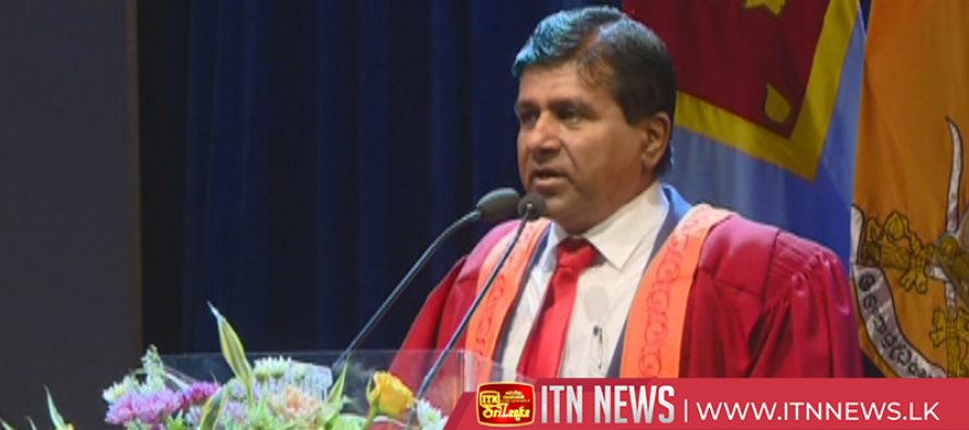 Sir John Kotalawala University convocation held
