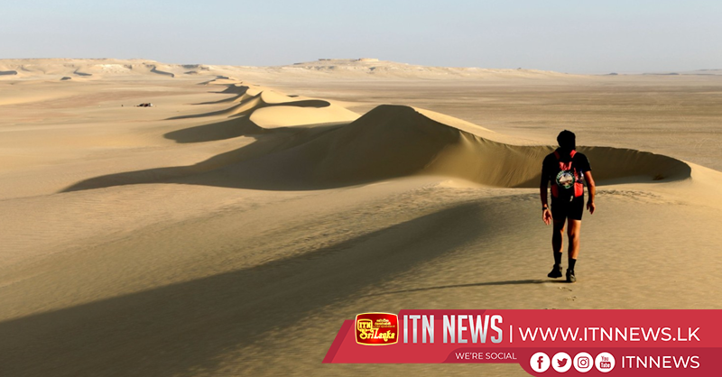 Runners feeling the heat in Oman Desert Marathon