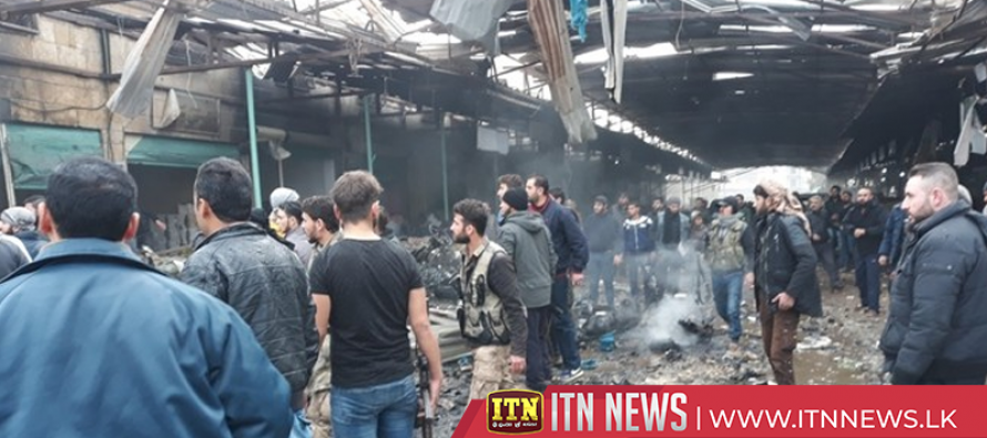At least eight killed in Afrin market explosion