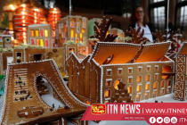 Architects bake and build edible gingerbread city