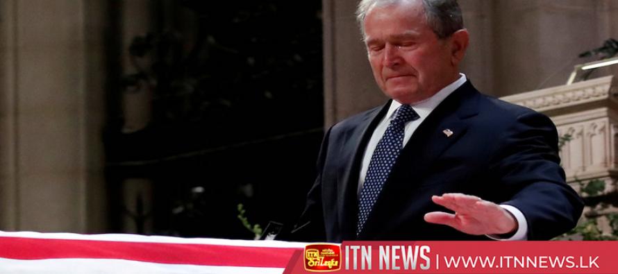 Body of former President Bush returns to Houston for funeral