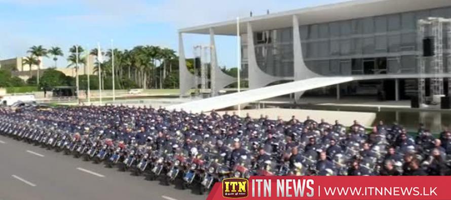 Massive security operation underway in Brasilia ahead of Bolsonaro inauguration