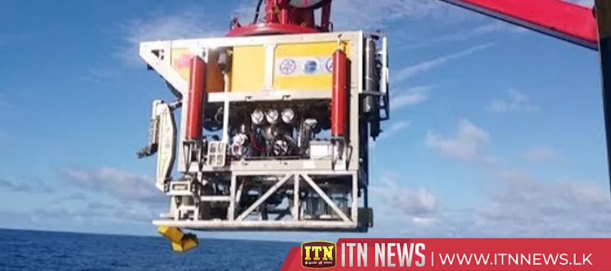 China's self-developed technology facilitates underwater robot's new depth record