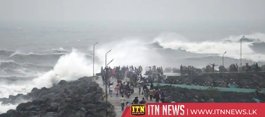 Cyclone Phethai makes landfall in India's Andhra Pradesh