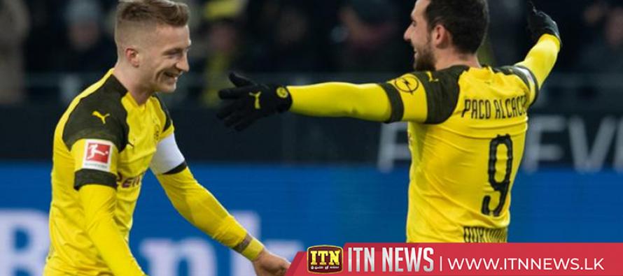 Dortmund's unbeaten Bundesliga record wiped out in shock defeat at Dusseldorf