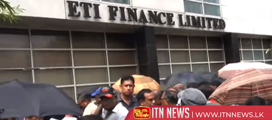 ETI depositors staged a protest