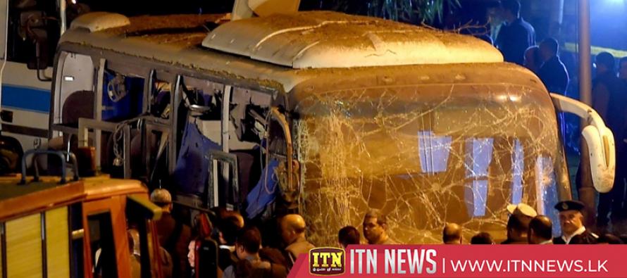 Egyptian PM visits victims of blast that kills three Vietnamese tourists near Cairo pyramids