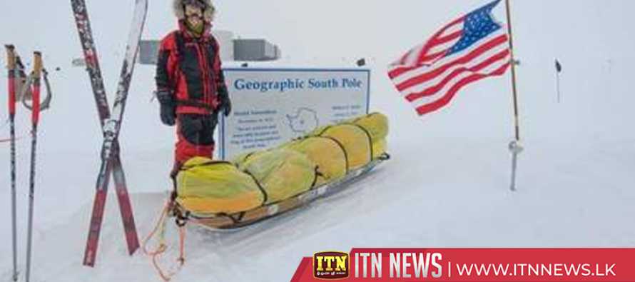 American adventurer Colin O'Brady completes world's first solo trek across Antarctica without aid