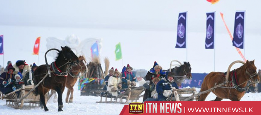 Ice and Snow Nadam Festival wows visitors in north China