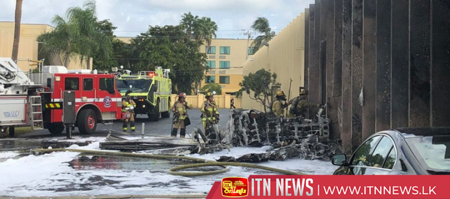 Small plane crashes into therapy center for children in Florida