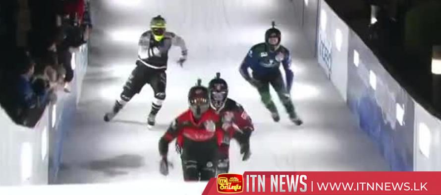 Adrenaline-filled Crashed Ice makes Japan debut