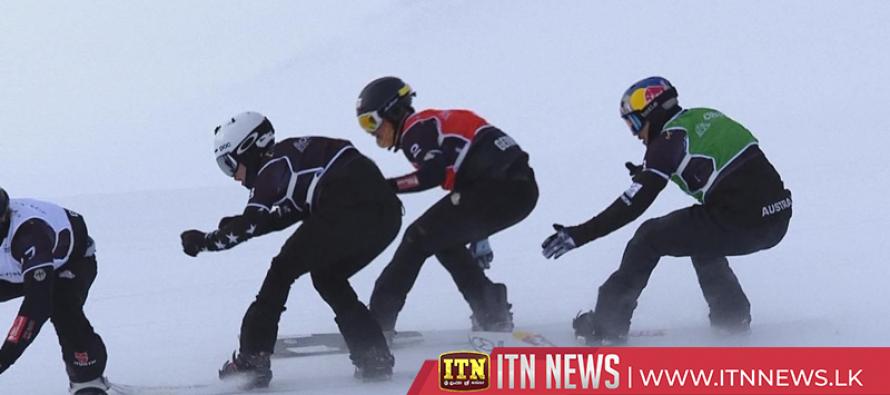 Wins for Perathoner and Samkova in Cervinia snowboard cross