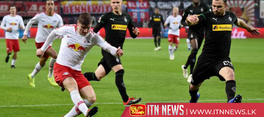 Leipzig stun Glabdach 2-0 with Werner double
