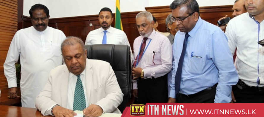 Newly appointed Ministers assumeoffice